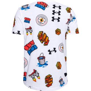 Boys' UA Hoops Sticker T-Shirt