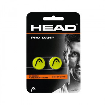 HEAD Pro Damp 2pk Yellow