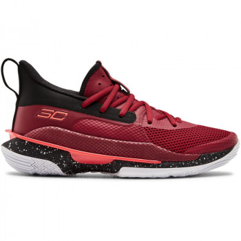 Boys' UA Grade School Curry 7 Basketball Shoes