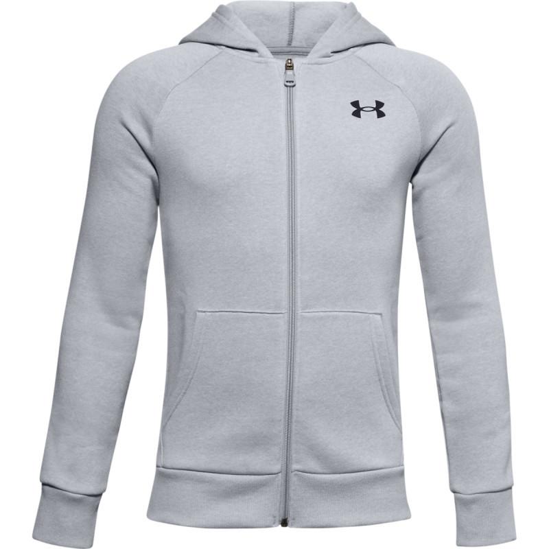 Boys' UA Rival Cotton Full Zip Hoodie