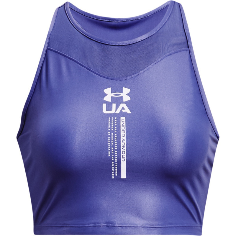 Women's UA Iso-Chill Crop Tank