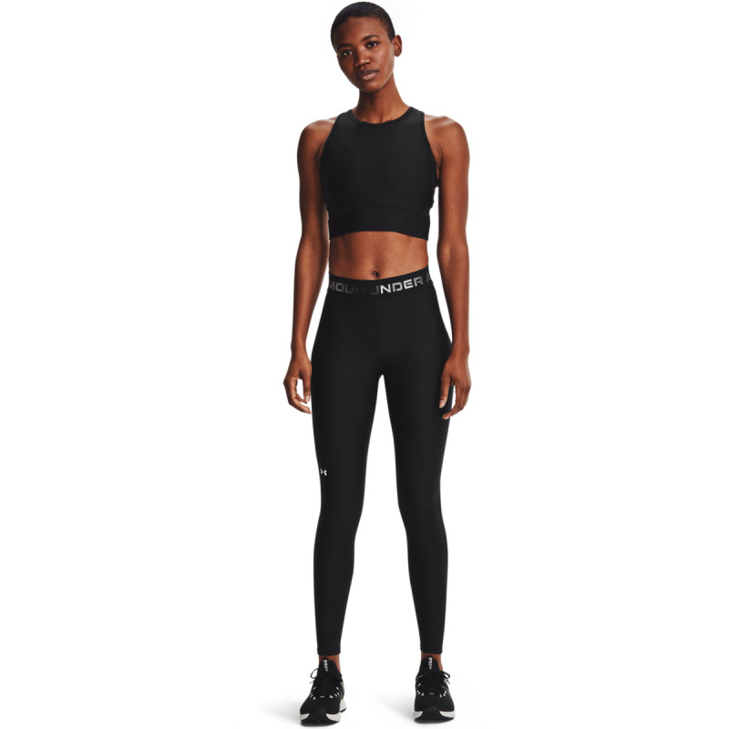 Women's HeatGear® Armour Wordmark Waistband Full-Length Leggings