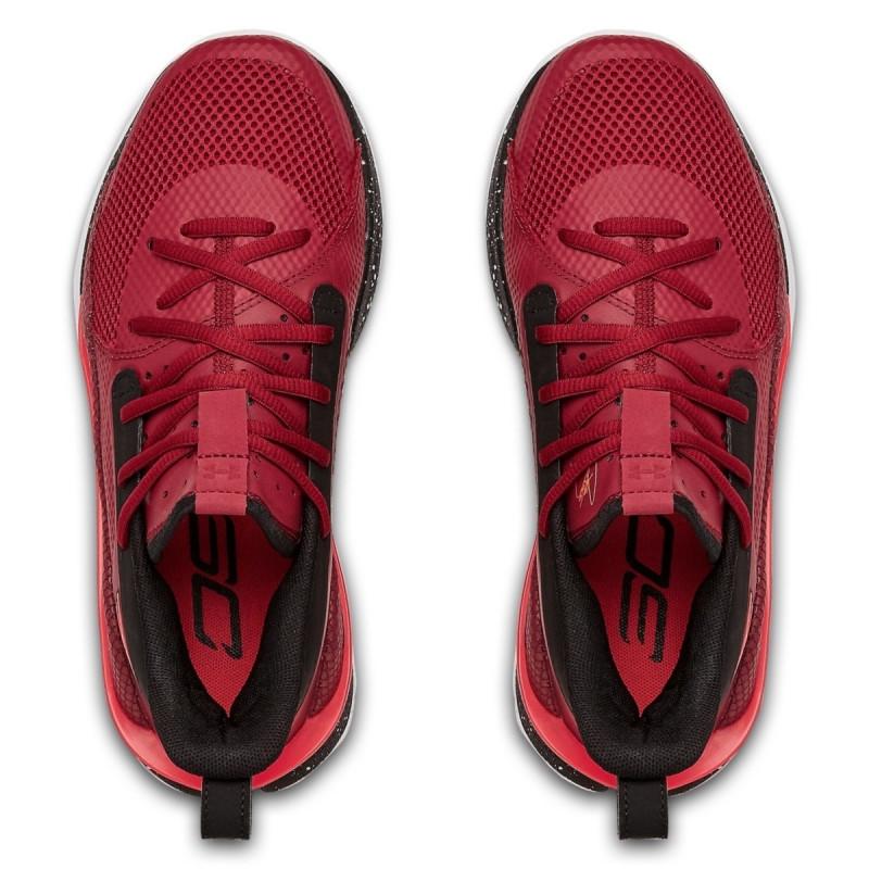 Boys' UA Grade School Curry 7 Basketball Shoes