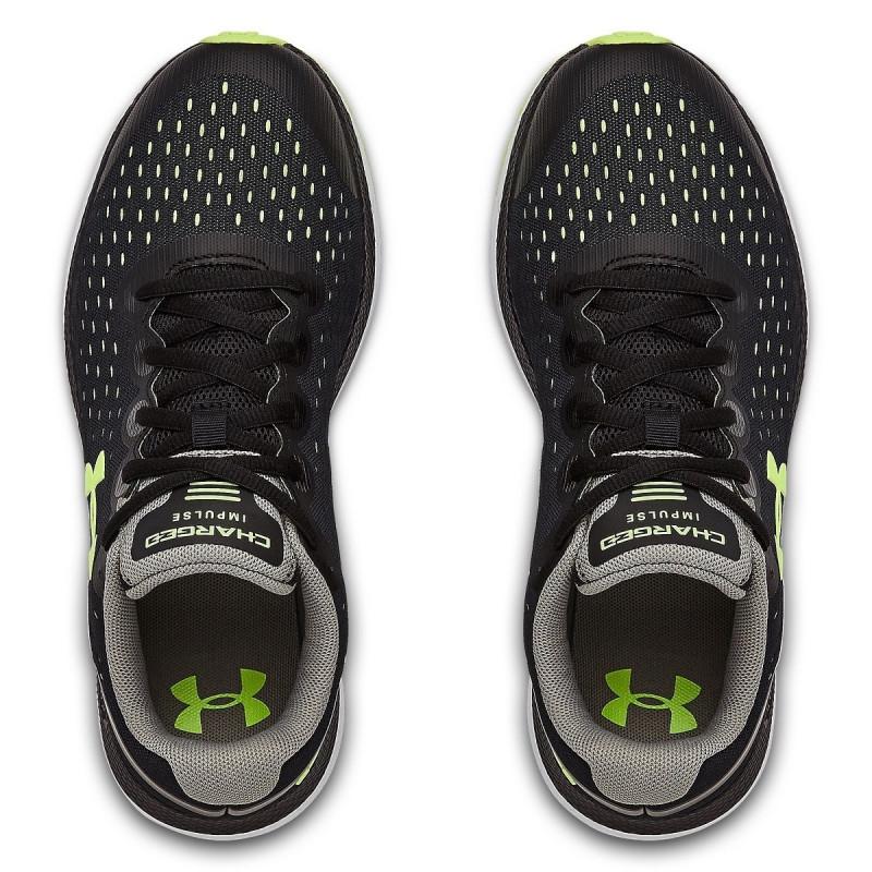 Girls' Grade School UA Charged Impulse Running Shoes