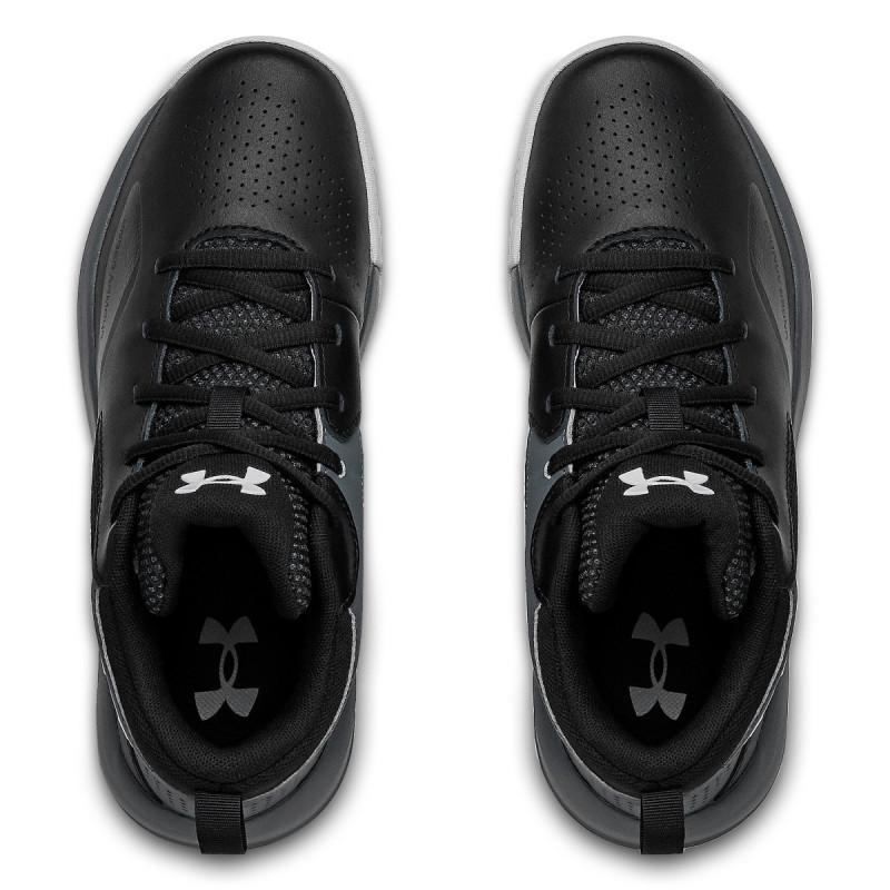 Boys' Grade School UA Lockdown 5 Basketball Shoes